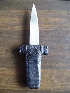 Making An Athame Cover
