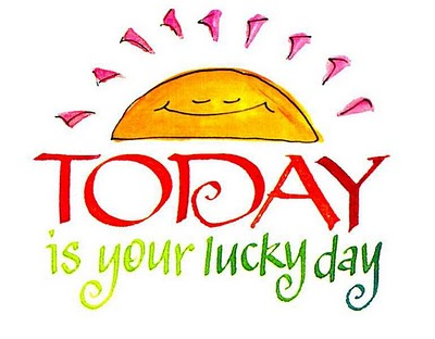 Is Today Your Lucky Day Cover