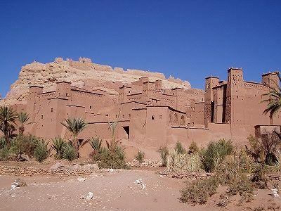 世界遺産アイント・ベンハットゥ-モロッコの旅行記