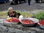 苺売のおばちゃん-タシケント