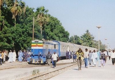 セネガル列車