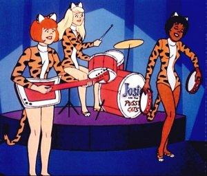 Josie, Melody e Valerie em versão animada