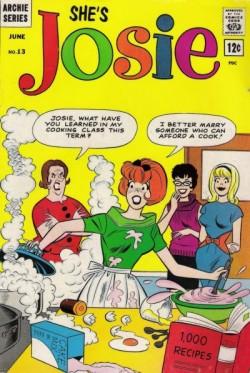 Josie, Pepper e Melody em versão quadrinhos
