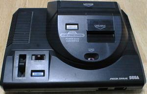 Mega Drive com Mega Adapter