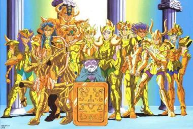 Os Cavaleiros de Ouro
