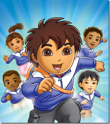 Go Diego Go International Rescue League