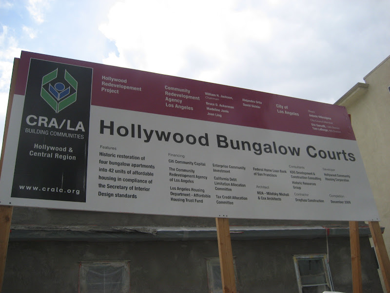CRA LA's Hollywood Bungalow Court Project