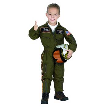Armed Forces Pilot Child Costume