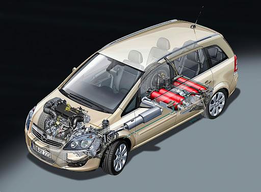 GM Opel Zafira was designed