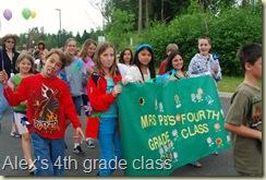 Mrs. P-B's class & banner