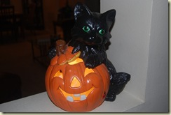 Kitty cat pumpkin