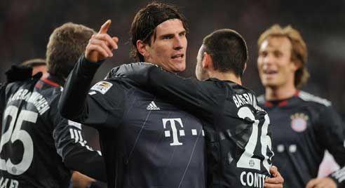 Mario Gomez, Stuttgart - Bayern Munich