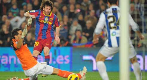Messi, Barcelona - Real Sociedad