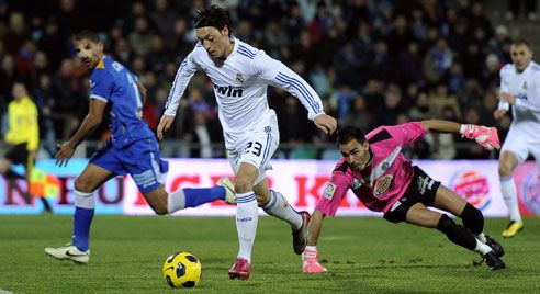 Ozil, Getafe - Real Madrid