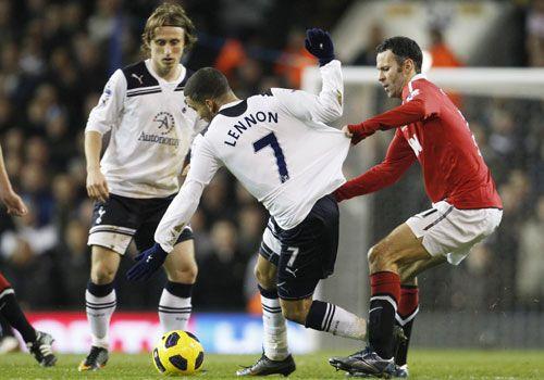 Ryan Giggs 600th league appearance, Tottenham HotSpur - Manchester United