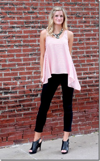 Jonesy Striped Tunic F