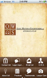 OWS Attorneys at Law - screenshot