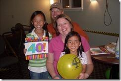 Kristin's 40th bday surprise at Mackinaw