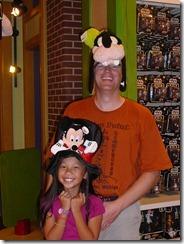 Downtown Disney - hats & dressup
