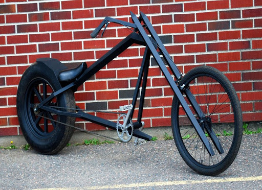 diy bikes, choppers, recumbents, trikes, tandems, ebikes, scooters, trailers, atomiczombie.com
