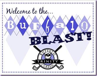 Buffalo Blast Sign