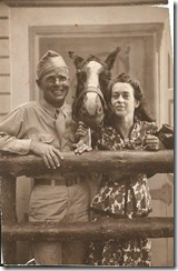 26 Tom, Sr. & Erna Perry, Horse