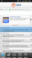 Screenshot of Enel Mobile