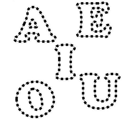 OPOSICIONES DE INFANTIL: A E I O U
