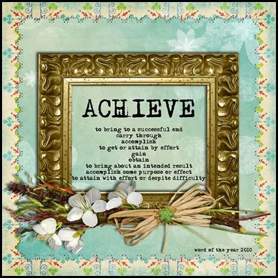 Word2010-Achieve
