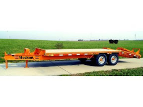 HUDSON BROTHERS DECK OVER EQUIPMENT TRAILERS