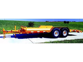 HUDSON BROTHERS TILT DECK EQUIPMENT TRAILERS