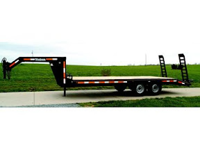 HUDSON BROTHERS GOOSENECK EQUIPMENT TRAILERS