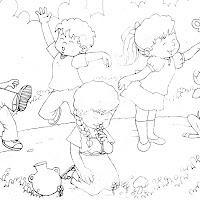 Niños Garífuna, Xinka, Ladino y Maya