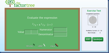 factor tree screen 1