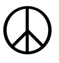 Haz la paz y no la guerra-Peace_symbol