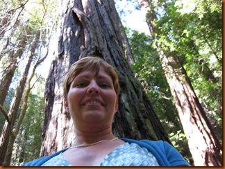 Me with a redwood