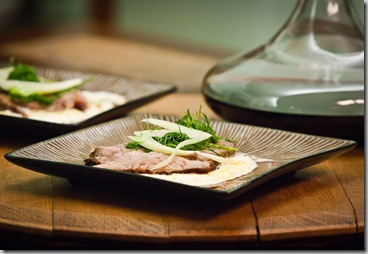 Lamb and Cauliflower Puree