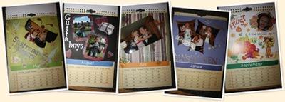 Vis Kalenderen jeg lagde til niesa vår og samboeren hennes