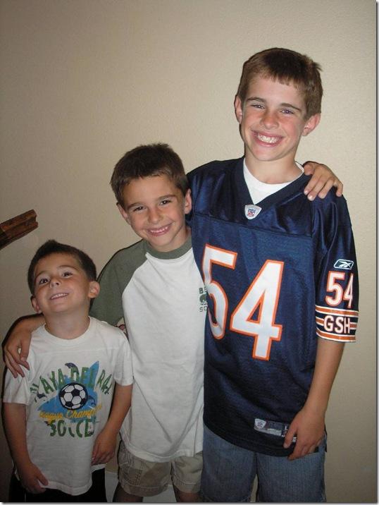 Tawni's boys, O, G & E