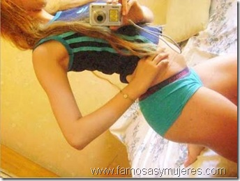 chicas en boxer