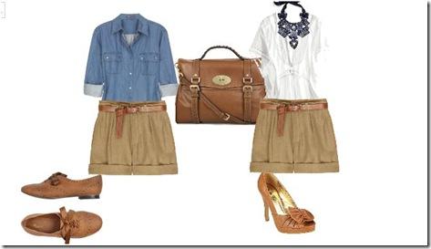 Shorts camel 4