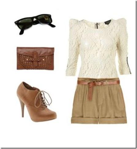 Shorts camel 3