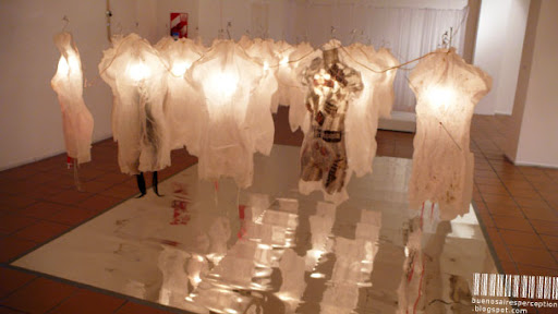 Exhibition by Catharina Burman Called Corpus at the Centro Cultural Borges in Buenos Aires, Argentina