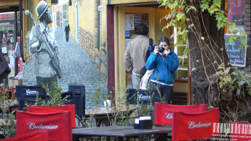 Being Photographed or How to Photograph the Photographer in Buenos Aires, Argentina