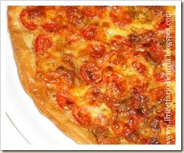 Pizza di sfoglia veloce