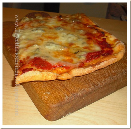pizza al gorgonzola