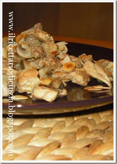 Pollo alle cinque spezie con mandorle