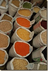 spices at market