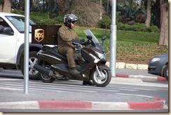UPS in Jerusalem