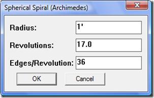 Spiral Spherical Spiral | RM.